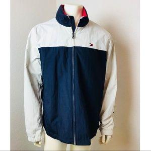 Tommy Hilfiger Spellout Windbreaker Retro Jacket